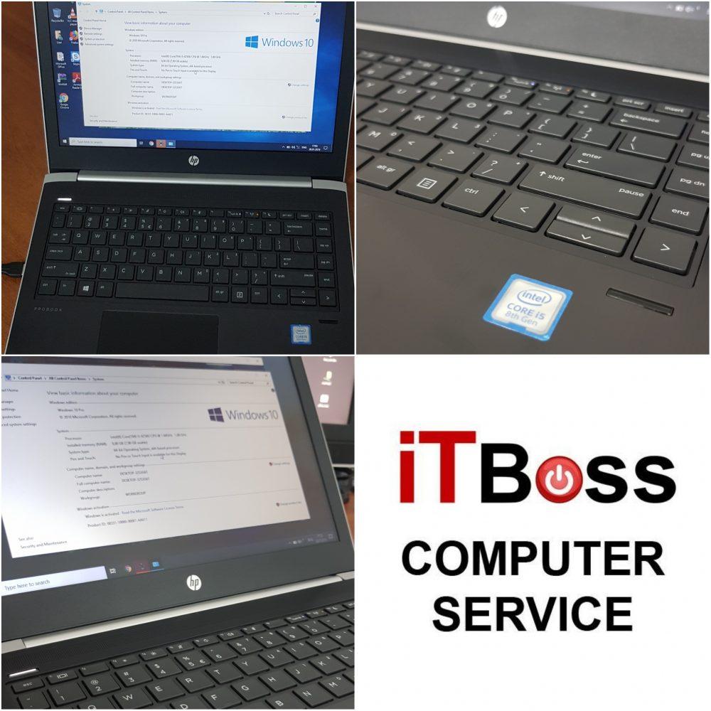 instalare windows 10 rapida laptop HP office drivere pdf reader antivirus